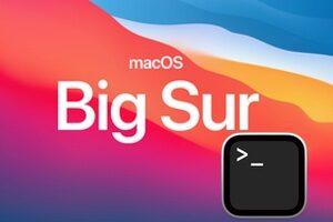 Retélécharger macOS Big Sur 11.x avec le Terminal
