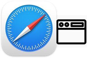 Personnaliser la barre d'outils de Safari Mac